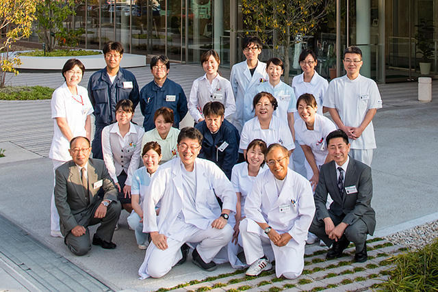 中日新聞リンクト 24号記事「済衆館病院(シアワセをつなぐ仕事)」