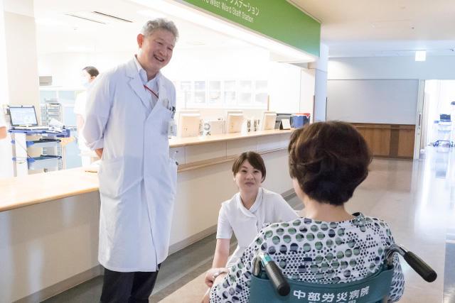中日新聞リンクト 26号記事「中部ろうさい病院(病院を知ろう)」